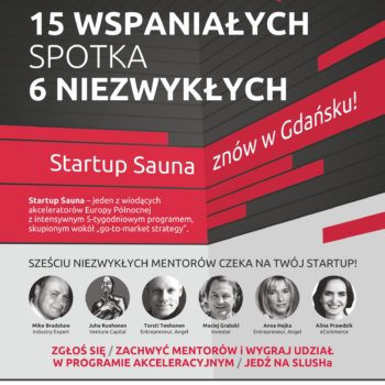 Startup Sauna 2016 is coming on the 28th of September – how can you apply?