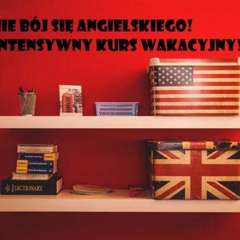 Polub się z językiem angielskim – BARDZO intensywne kursy językowe!
